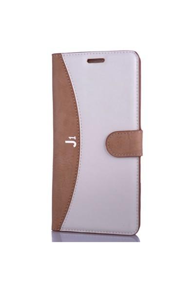 CoverZone Samsung Galaxy J1 Kılıf Kapaklı Cüzdan