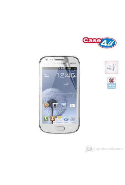 Case 4U Samsung Galaxy Trend S7560 Ekran Koruyucu ( Ultra Şeffaf Parmak izi bırakmaz )*