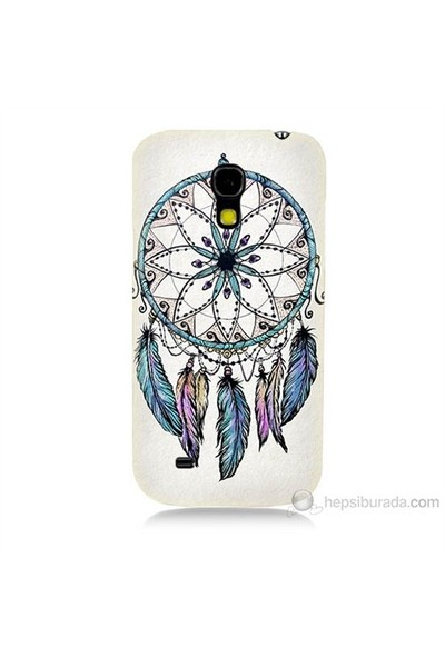 Teknomeg Samsung Galaxy S4 Mini Kapak Kılıf Dream Catcher Baskılı Silikon