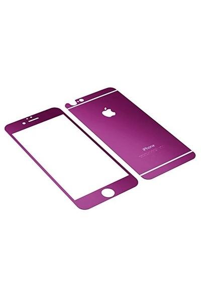 Markaawm Apple iPhone 6 6S Renkli Cam Aynalı Ekran Koruyucu