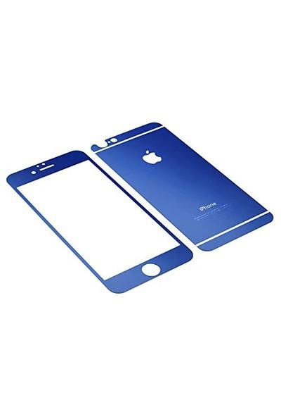 Markaawm İphone 6 Plus Renkli Cam Aynalı Ekran Koruyucu