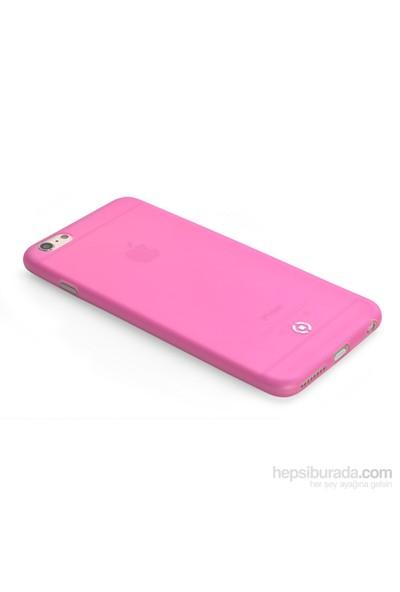 Celly Ultra İnce Kılıf 0.3Mm İphone 6S Pembe - Frostıp6spk