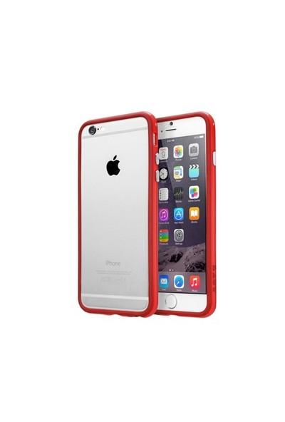 Laut Apple iPhone 6 (6S Uyumlu) Loopie Bumper Kırmızı Kılıf