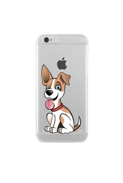 Remeto Samsung Galaxy J1 Transparan Silikon Resimli Köpek