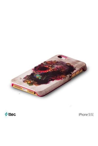 Ttec ArtCase Koruma Kapağı iPhone 5s Skull by Ali Güleç