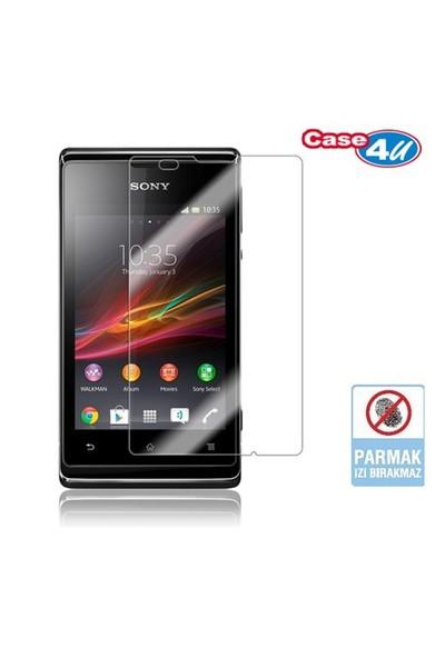 Case 4U Sony Xperia E Ekran Koruyucu ( Parmak izi bırakmaz )*