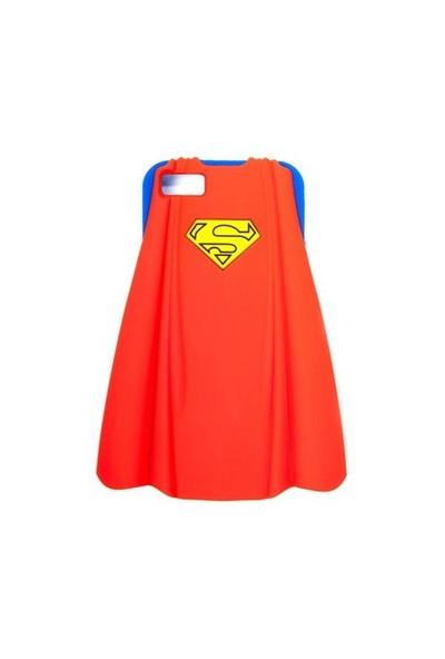 Superman İphone5 3 Boyutlu Pelerinli Silikon Kılıf