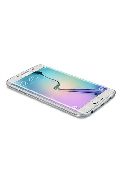 Dafoni Samsung Galaxy S6 Edge Plus Curve Tempered Glass Premium Şeffaf Cam Ekran Koruyucu