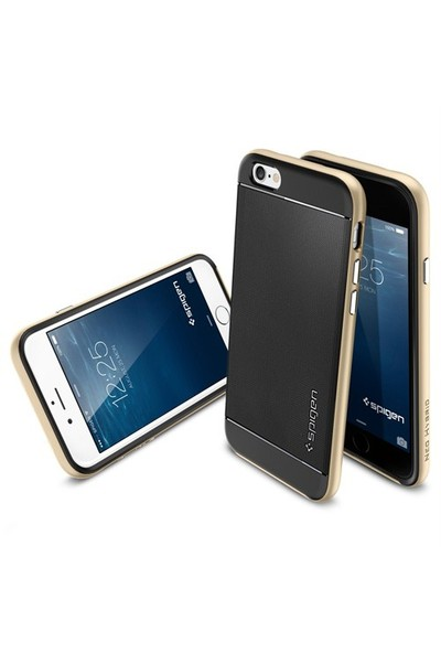 Spigen Apple iPhone 6S/6 Kılıf Neo Hybrid Serisi Champagne Gold - 11035