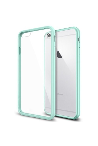 Spigen Apple iPhone 6s Plus/6 Plus Ultra Hybrid Mint (PET) Kılıf - 11052