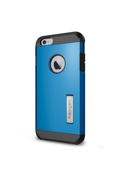 Spigen Apple 6s Plus/6 Plus Kılıf Kılıf Tough Armor Serisi Electric Blue - 11054