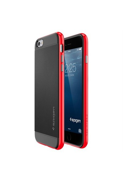 Spigen Apple 6s Plus/6 Plus Kılıf Neo Hybrid Serisi Dante Red - 11065