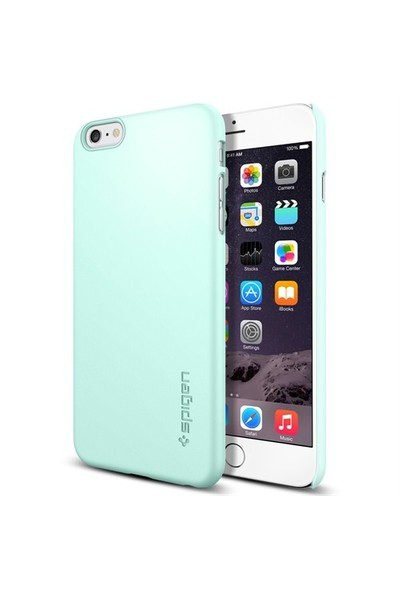 Spigen Apple iPhone 6s Plus/6 Plus Kılıf Thin Fit Serisi Mint (PET) - 11100