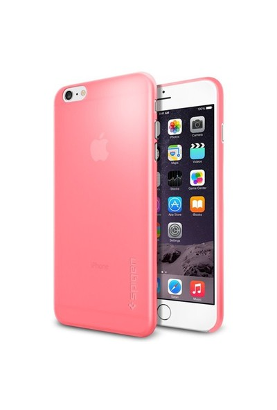 Spigen Apple 6s Plus/6 Plus Kılıf Air Skin (0.3mm) Azalea Pink - 11160