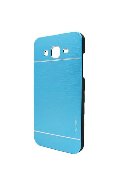 Markaawm Samsung Galaxy J5 Kılıf Motomo Metal Kapak