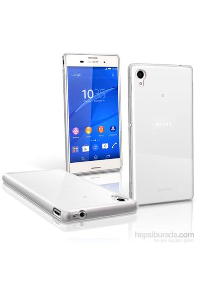 OEM Sony Xperia M4 Aqua Kılıf 0.3Mm Transparan Silikon
