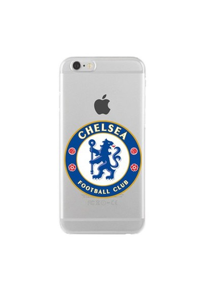 Remeto Samsung Galaxy Note 4 Transparan Silikon Resimli Chelsea Logo