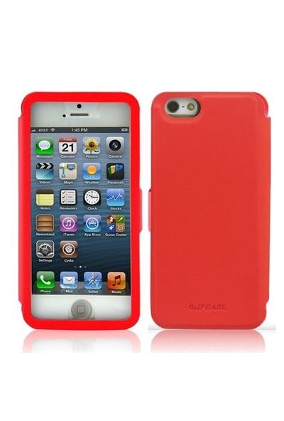 iPearl Apple iPhone 5C Kılıf L-Full View Stand Cover