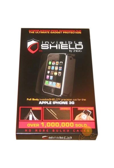 Zagg Invisible Shield ( Nokia 5800 Görünmez + Çizilmez Kılıf + Ömür Boyu Garanti ) Ön + Arka