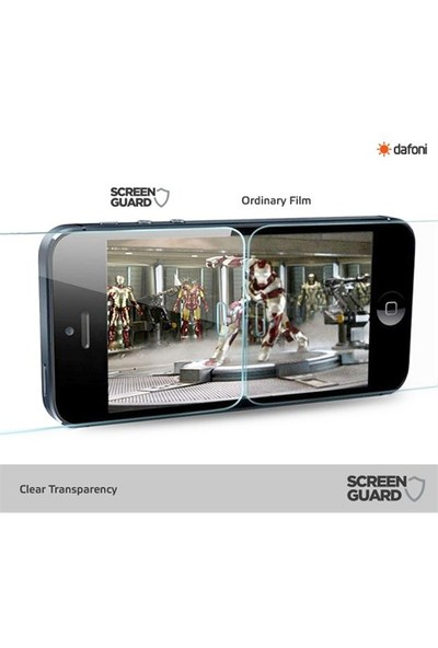 Dafoni General Mobile Discovery Elite Plus Tempered Glass Premium Cam Ekran Koruyucu