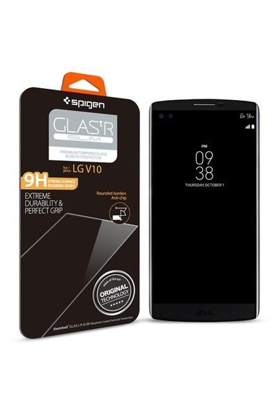 Spigen LG V10 Screen Protector GLAS.tR SLIM Cam Ekran Koruyucu - SGP11791