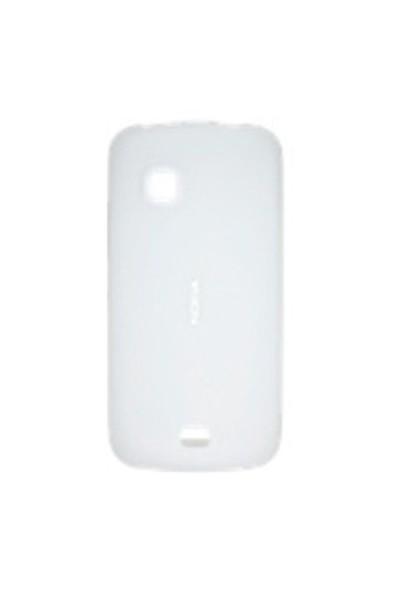 Nokia C5 Silikon Kılıf CC-1012 Beyaz