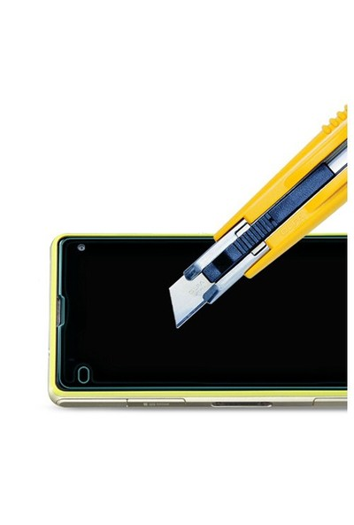 Microsonic Temperli Cam Ekran Koruyucu Sony Xperia Z1 Compact Film
