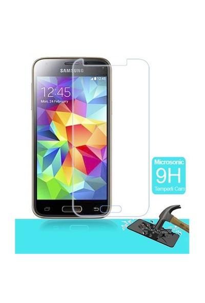 Microsonic Temperli Cam Ekran Koruyucu Samsung Galaxy S5 Mini Film