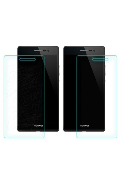 Microsonic Temperli Cam Ekran Koruyucu Huawei Ascend P7 Film