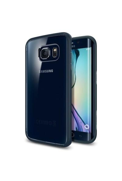 Spigen Samsung Galaxy S6 Edge Kılıf Ultra Hybrid - Metal Slate - 11415