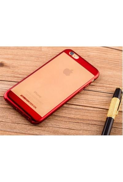 Qapak iPhone 6 Bumper Koruma Kapak Kırmızı uz244434009308