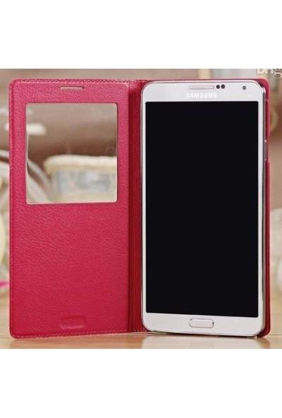 Markaawm Samsung Galaxy Note 3 Kılıf S View Çipli