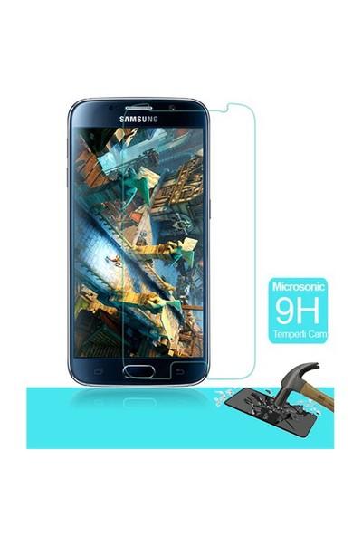 Microsonic Temperli Cam Ekran Koruyucu Samsung Galaxy S6 Film