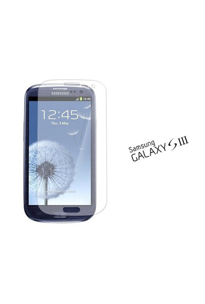 Qapak Samsung S3 Ekran Koruyucu ( 3 Adet ) uz244434007586