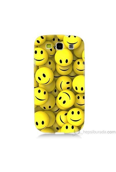 Teknomeg Samsung Galaxy S3 Kapak Kılıf Smile Baskılı Silikon