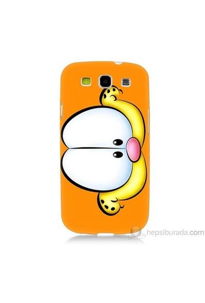 Teknomeg Samsung Galaxy S3 Kapak Kılıf Garfield Baskılı Silikon