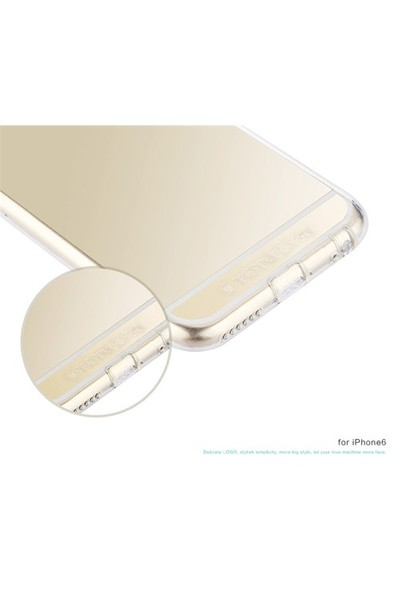 TotuDesign Apple iPhone 6 Kılıf Clear Soft Series Transparant Thin