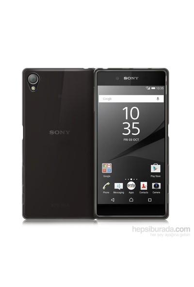 Teleplus Sony Xperia Z5 Compact Mini Silikon Kılıf Siyah