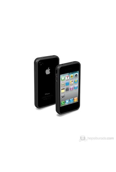 SBS TE0PGB40K iPhone 4/4S Uyumlu Bumper Kılıf - Siyah