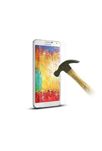 Okmore Samsung Note 1 Temperli Ekran 0.33 2.5D