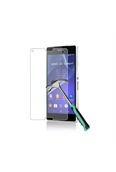 Okmore Sony Xperia Z1 Temperli Ekran 0.33 2.5D