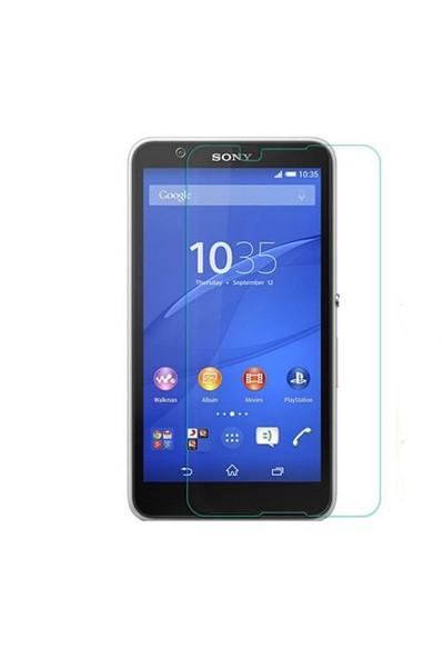 Teleplus Sony Xperia E4 Cam Ekran Koruyucu Cam Ekran Koruyucu Film