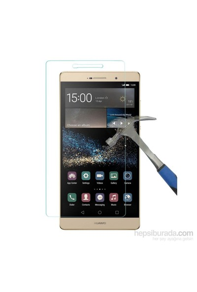 Teleplus Huawei P8 Max Temperli Cam Ekran Koruyucu Cam Ekran Koruyucu
