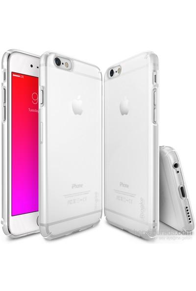 Ringke Slim Frost iPhone 6s/ 6 Kılıf White - 4 Tarafı Saran Tam Koruma İnce Buzlu Şeffaf
