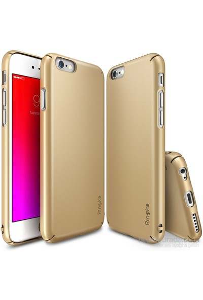 Ringke Slim iPhone 6s/ 6 Kılıf Royal Gold - 4 Tarafı Saran İnce Şık Tasarım