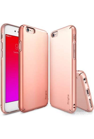 Ringke Slim iPhone 6s/ 6 Kılıf Rose Gold - 4 Tarafı Saran İnce Şık Tasarım