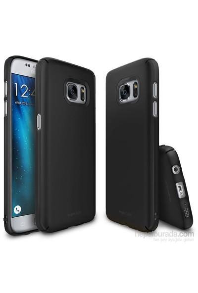 Ringke Slim Galaxy S7 Kılıf SF Black - 4 Tarafı Saran İnce Şık Tasarım