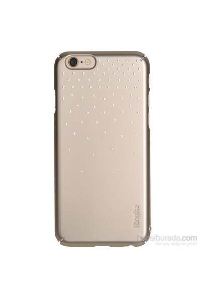 Ringke Noble Slim iPhone 6s Plus/ 6 Plus Taşlı Kılıf 4 Tarafı Saran Tam Koruma - Royal Gold
