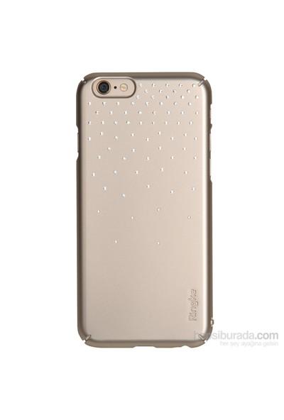 Ringke Noble Slim iPhone 6s/ 6 Taşlı Kılıf 4 Tarafı Saran Tam Koruma - Royal Gold