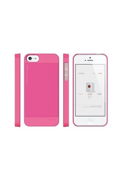 Elago Apple iPhone 5 S5 Outfit Series Pembe (Ekran Koruyucu Hediye)